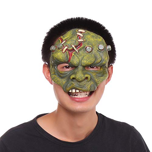 PJHGS Kindermaske Halloween Karnevalsmaske Vollgesichts Halbgesichtsmaske Latex Maske