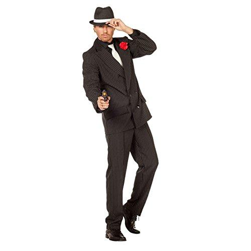 NEU Herren-Kostüm Gangster-Anzug , Gr. 58-60 (Herren Gangster Anzug)