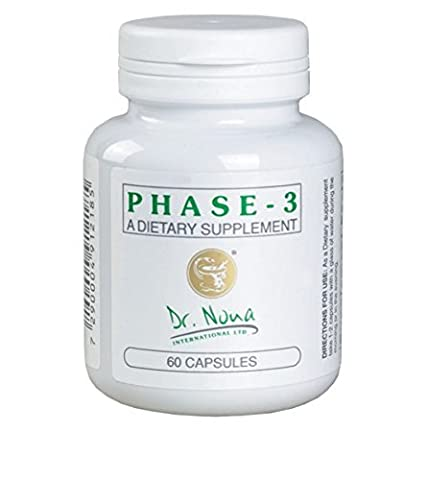 Phase 3 Dr. Nona Dietary Supplement Hair Loss Treatment Dead