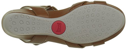 Camper - Micro, Sandali Donna Marrone (Brown 004)