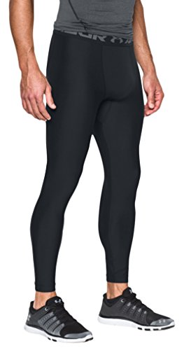 Under Armour Herren HG Armour 2.0 Legging, Black, XL (Pants Rugby Training)