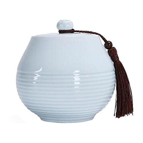 Chinesische Tee / Kaffee Container Keramik Topf S??igkeiten / Snacks / Cookies Topf Lagerung Flaschen NO.03
