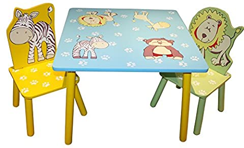Liberty House Toys Animal Table and 2 Chairs Set