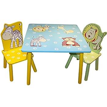 Liberty House Toys Animal Table And 2 Chairs Set Amazon