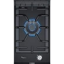 Bosch PRA3A6D70 Integrado Encimera de gas Negro hobs - Placa (Integrado, Encimera de gas, Vidrio, Negro, hierro fundido, 6000 W)