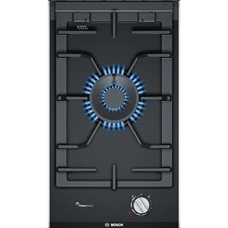 41Ds6VHf3EL. SS324  - Bosch PRA3A6D70 Serie I 8 - Placa de cocina de gas de 30 cm de ancho, tecnología FlameSelect, cristal vitrocerámico y parillas de hierro fundido, apta para gas natural o gas butano, color negro