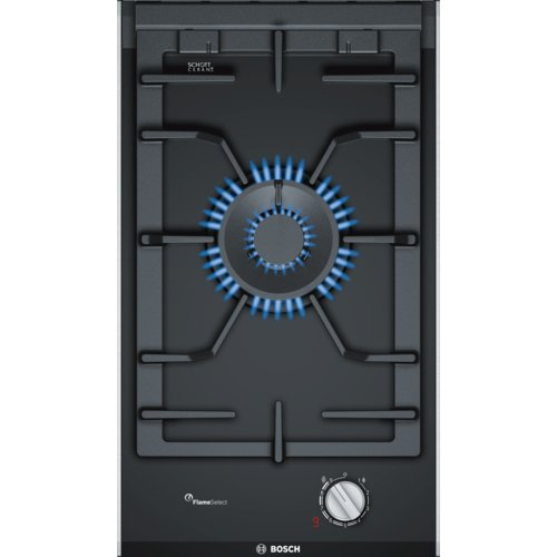 Bosch PRA3A6D70 Plan de cuisson encastrable, à gaz, noir