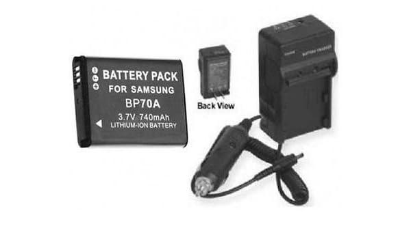Battery+Charger For Samsung PL200 PL201