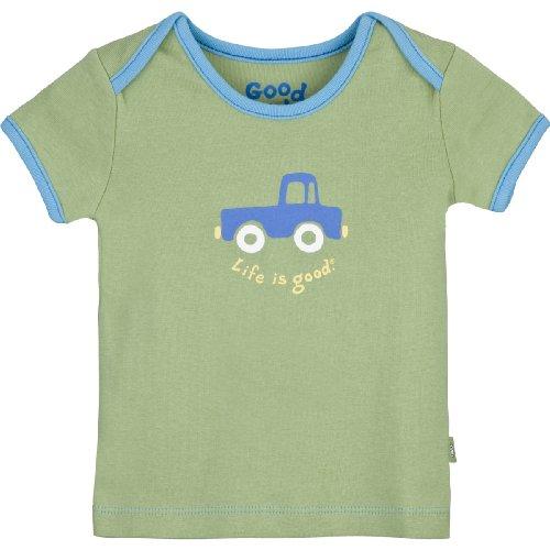 Life is Good Baby Truck Ringer Tee, Mädchen, grün - spring green (Kinder Mädchen T-shirt Ringer)