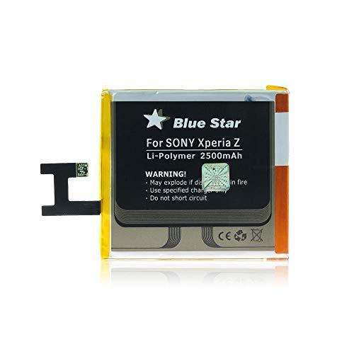 Blue Star Premium - Batteria da 2500 mAh Li-Ion de Capacità Carica Veloce 2.0 Compatibile Con il Sony Xperia Z / M2