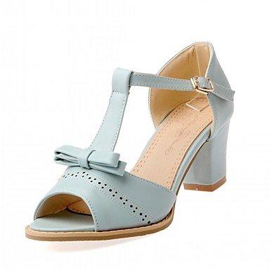 AOOAR , chaussures compensées femme - rose - Rosa/Lackleder,