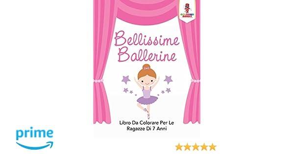Amazon It Bellissime Ballerine Libro Da Colorare Per Le Ragazze