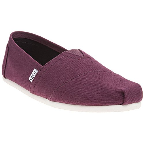 9,5 M Schuhe (TOMS Mens Classic Red Mahogany Canvas 42.5)