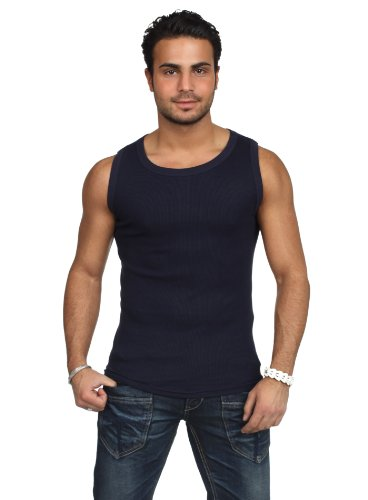 Urban Classics - Mens Tanktop TB066 T-Shirt Männer Schwarz Blau