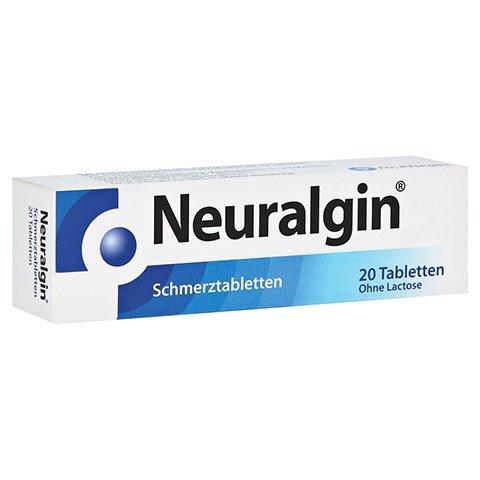 Neuralgin Spar-Set 5x20 Schmertabletten- bei bei akuten leichten bis mäßig starken Schmerzen (Kopfschmerzen mit niedrigen Blutdruck, und Zahnschmerzen), für Erwachsene und ab 12 Jahren