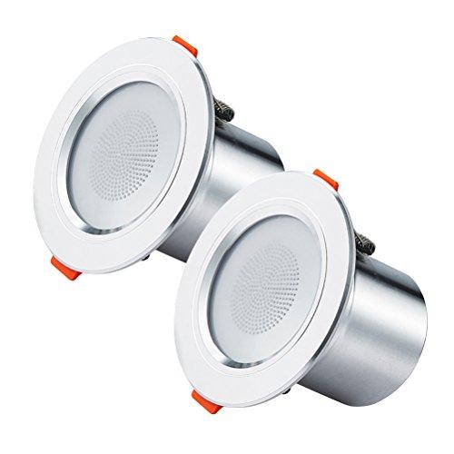 frcolor 2Smart LED Einbauleuchte Bluetooth Einbauleuchte Deckenleuchte Dekoratives Licht (Einbauleuchten Dekorative)
