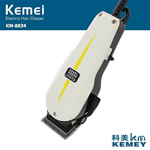 Kemei KM-8834 Professional Electric Hair Trimmer Clipper Heavy Duty Gromming Set for Men, Women (MutliColor) by EzLife