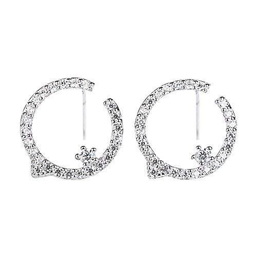 925Sterling Silber Ohrringe, wawj Hochzeit Ohrringe für Frauen ()