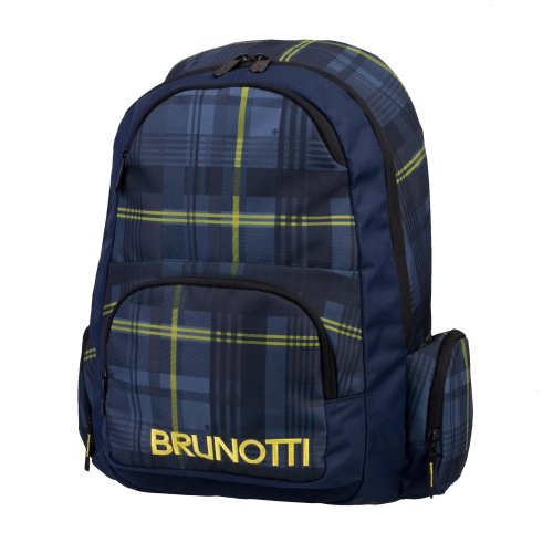 Brunotti Backpack Functional Lined Check Ombre, Borsa a zainetto donna Multicolore (Mehrfarbig (Lined Check Ombre 502))