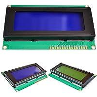 GETIT72 - Módulo de Pantalla LCD de 2004 con módulo LED LCD (Pantalla Azul Resistente, retroiluminación, LCD, Control de Salida, Contraste Ajustable)