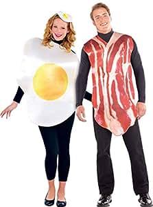 Amscan International - Costume per coppia, motivo: colazione