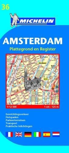 Plano Amsterdam (Planos Michelin)