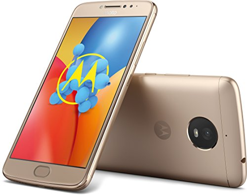 Image of Motorola Moto E4 Plus Smartphone (13,97 cm (5,5 Zoll) HD Display, 3 GB RAM/16 GB Speicher, Dual-Sim, Android 7.1.1) Fine Gold