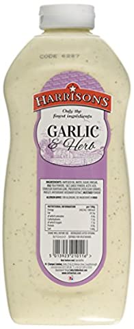 Harrisons Garlic and Herb Sauce 970 ml (Pack of