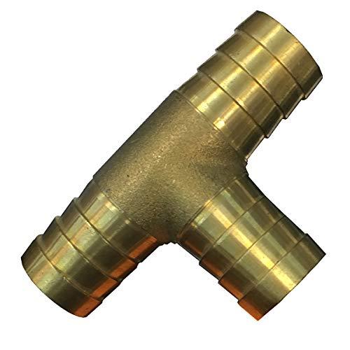 KANANA Y, T-Verteiler 12mm, 16mm, 19mm Gartenschlauch Schlauch Schlauchverbinder (VGS), Durchmesser:T Form 16mm