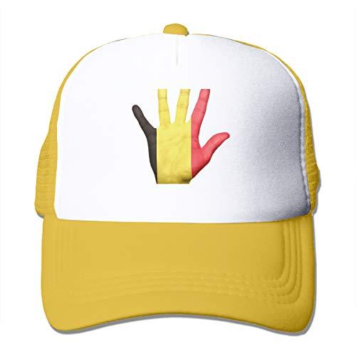 Bgejkos Belgien Coole Snapback Cap Fit Cap für Herren und Damen