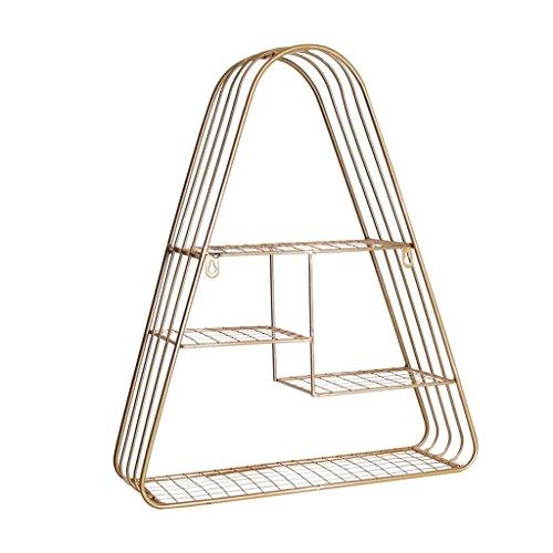 Regal Dekorative Rahmen-Topf-Regal-Aufhänger Mehrschicht-Wand-Balkon-Ecken-Wohnzimmer-Landungs-Lagerung - Ecke Wand Lagerung