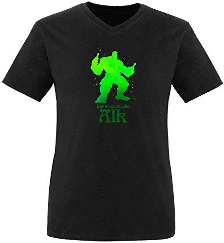 EZYshirt der Unglaubliche Alk Herren T-Shirt V-Neck -