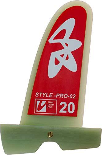 Maui Ultra Fins MUF Style Pro 02 Windsurf Freestyle Finne, Finnenlänge:21cm, Finnen Box:Powerbox -