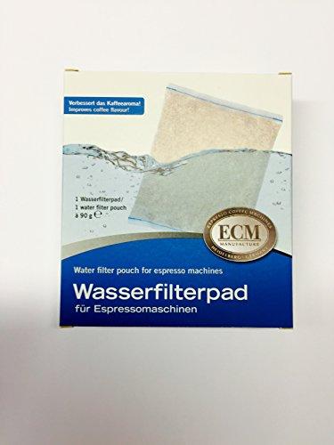 ECM Wasserfilterpad Wasserfilter Beutel für Espressomaschinen