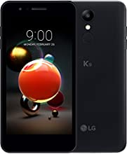 LG K9 smartphone Dual SIM con Display 5'' HD, batteria da 2500mAh, fotocamera 8MP, Selfie 5MP, Quad-Core 1.3GHz, Memoria 16GB, 2GB RAM, Android 7.1.2 Nougat, Aurora Black [Italia]