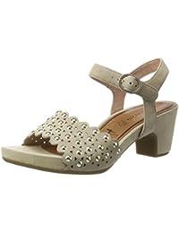 Tamaris Schuhe 1-1-28385-38 bequeme Damen Sandalette, Sandalen, Sommerschuhe für modebewusste Frau,