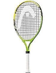 HEAD Novak 21 - Raqueta encordada, color amarillo / verde / negro, talla 21
