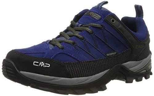CMP Herren Rigel Low Trekking- & Wanderhalbschuhe, Blau (Marine-B.Blue 04md), 47 EU - Flache Sneaker Boot