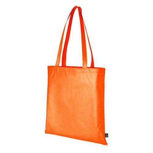 Hell farbigen Tote Staubbeutel–Fashion; Wiederverwendbare Einkaufstasche, Turnbeutel, Umhängetasche Orange - Orange