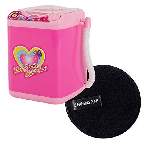 rockner Elektrische Automatische Make-Up Pinsel Puff Reinigung Baumwolle Waschmaschine Reinigungswerkzeug + Reinigungspuff ()