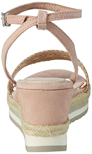 Marco Tozzi 28740, Sandales Bout Ouvert Femme Rose (Rose 521)