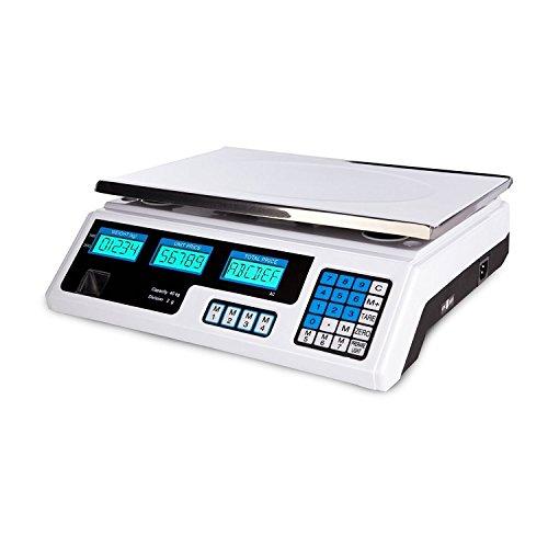 tempo di saldi Bilancia Elettronica Digitale Professionale Min. 5 Gr Max. 40 Kg Divisione 2 Gr