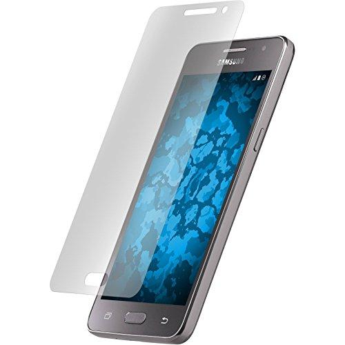 PhoneNatic 2er-Pack Bildschirmschutzfolien klar kompatibel mit Samsung Galaxy Grand Prime