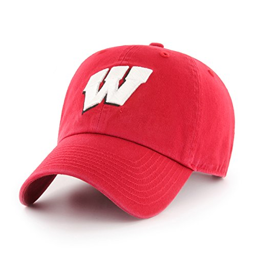 OTS Damen NCAA Challenger reinigen bis Verstellbarer Hat, Damen, NCAA Women's OTS Challenger Clean Up Adjustable Hat, rot