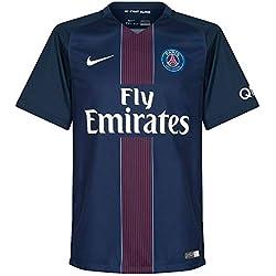 Nike PSG M SS HM Vapor Match JSY - Maillot Ligne Paris Saint Germain Homme, Couleur Bleu, Taille L