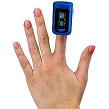 MedX5 OLED Pulsioximetro de dedo, pulsómetro, oxímetro, medidor de pulso, producto médico certificado