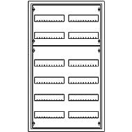 UP-Verteiler m.Tür 2x6 R. 144 PLE, IP31