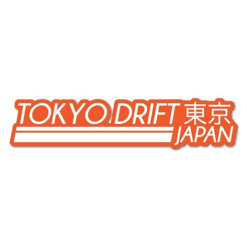 TOKYO DRIFT JAPAN JDM Car Sticker Decal (Drift-autos Tokyo)