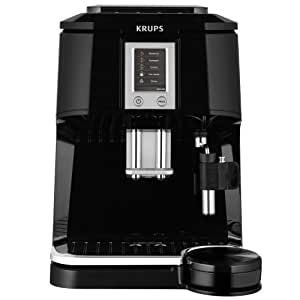 Krups ea844810 machine expresso grains automatique tft noir cui - Machine a cafe grain krups ...