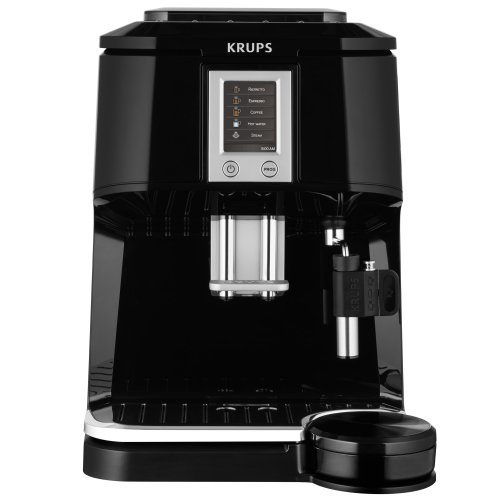KRUPS EA8448 Kaffeevollautomat (1,7 l, 15 bar, Super-Cappuccino-System) schwarz